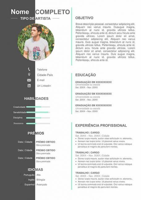 modelo-curriculo-artistico-download-gratis